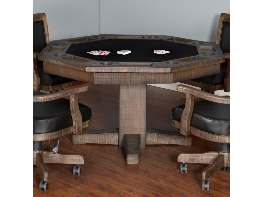 Recessed Gaming Table