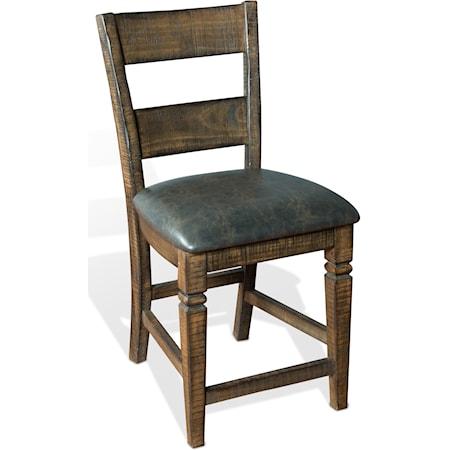 "24"" Barstool w/ Cushion Seat"