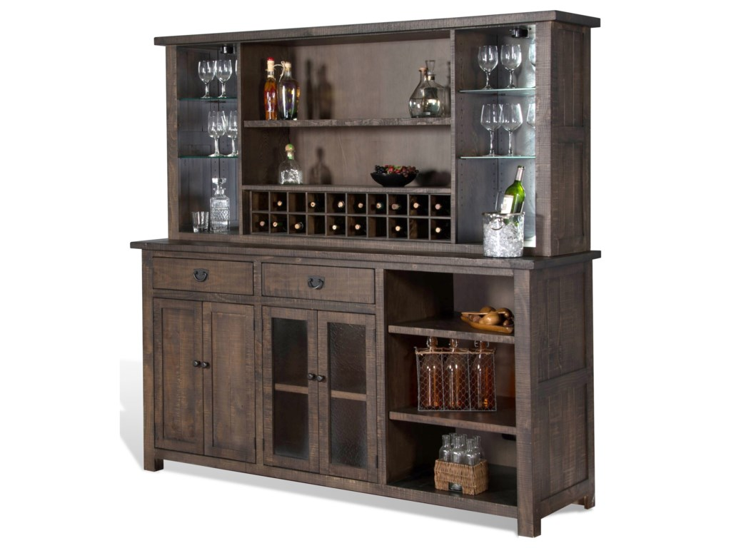 Sunny Designs HomesteadBack Bar