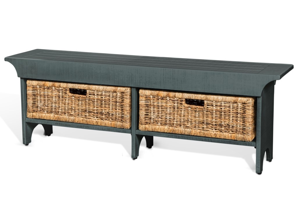 Sunny Designs Manor HouseStorage Bench