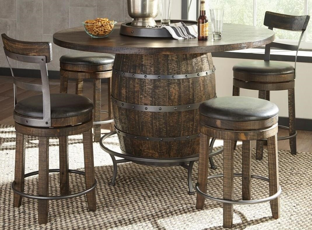 Sunny Designs Metro Flex5 Piece Pub Table Set ...