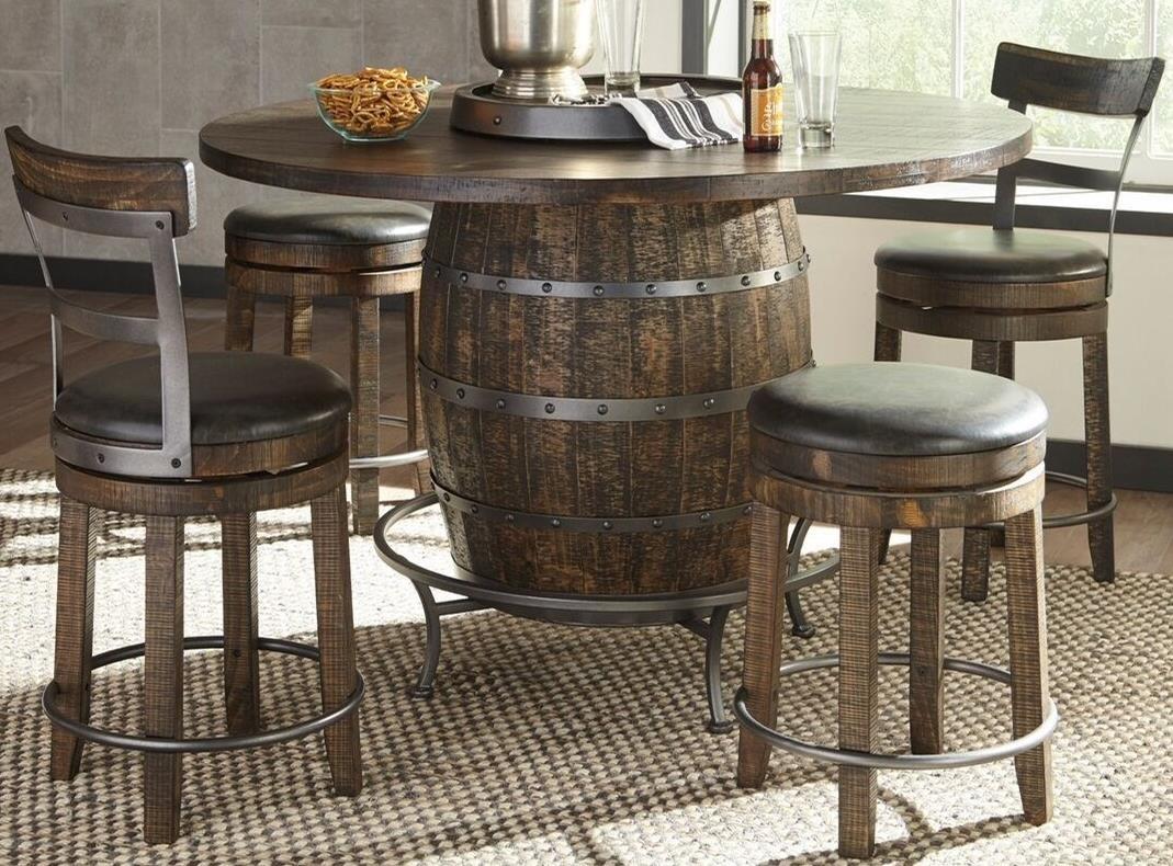Beau Sunny Designs Metro Flex5 Piece Pub Table Set ...