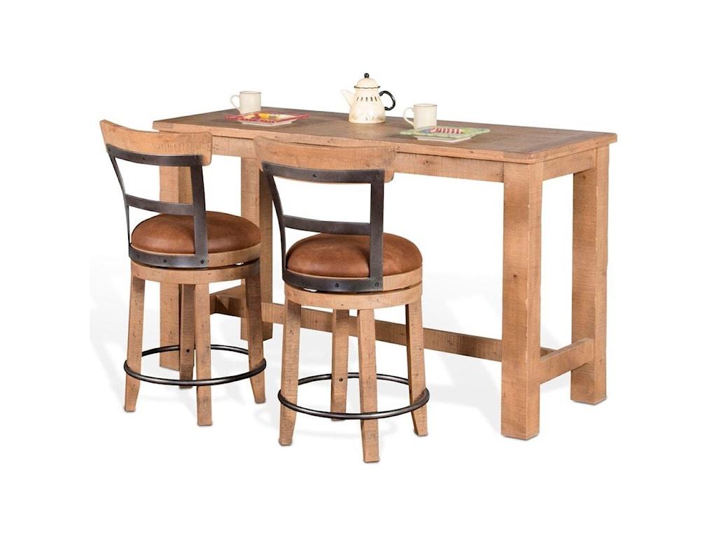 Vfm signature metro flex 3 piece pub table set with distressed vfm signature metro flex3 piece pub table set watchthetrailerfo