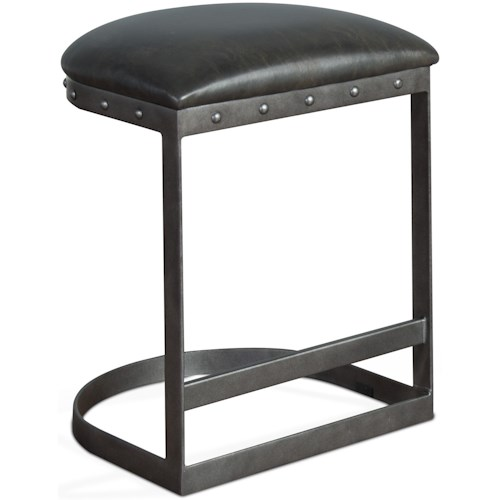 Sunny Designs Metro Flex Tahoe Counter Height Bar Stool with Cushion Seat