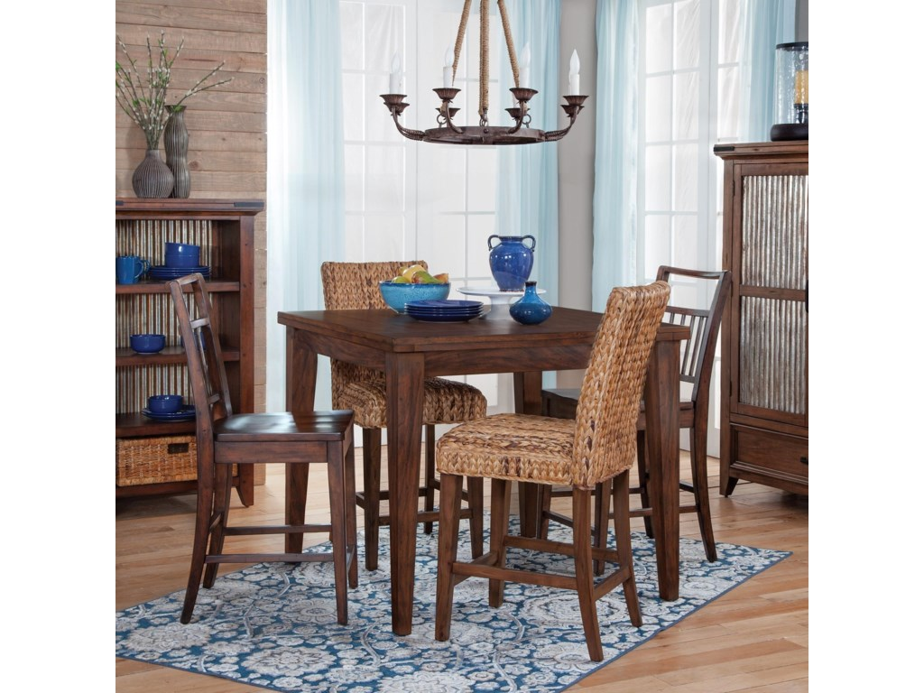 Sunny Designs Mossy Oak Nativ Living Counter Height Dining ...