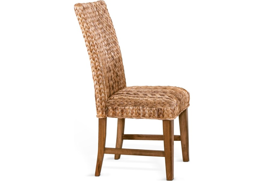 Sunny Designs Mossy Oak Nativ Living Side Chair With Woven