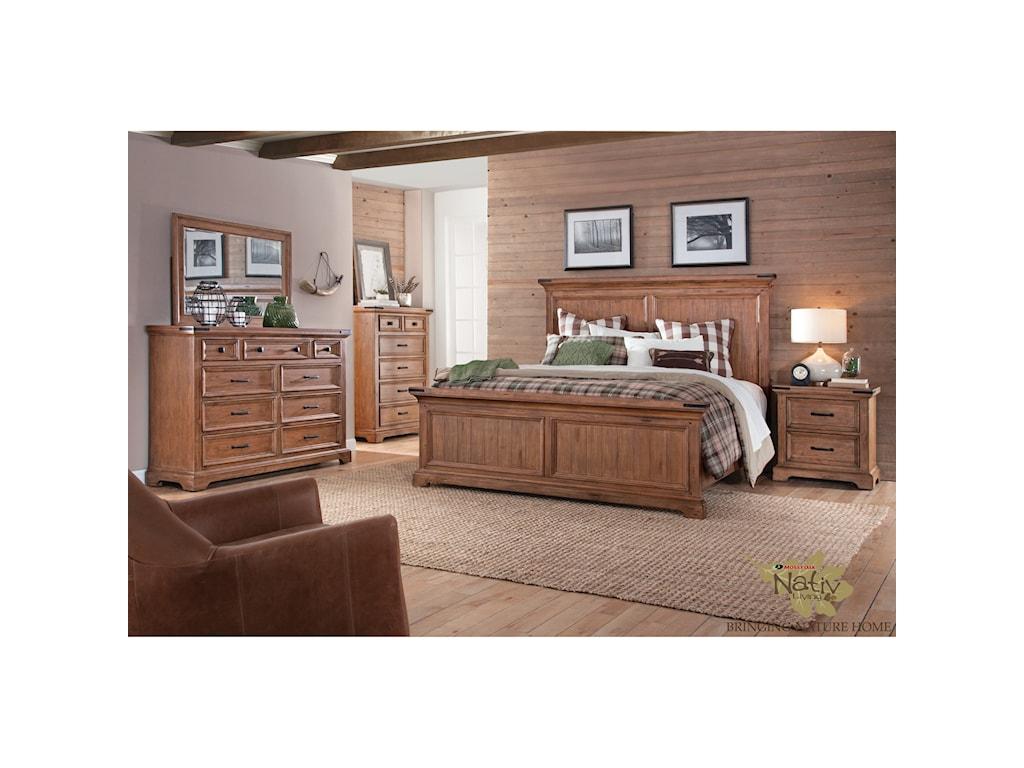 Sunny Designs Mossy Oak Nativ LivingDresser
