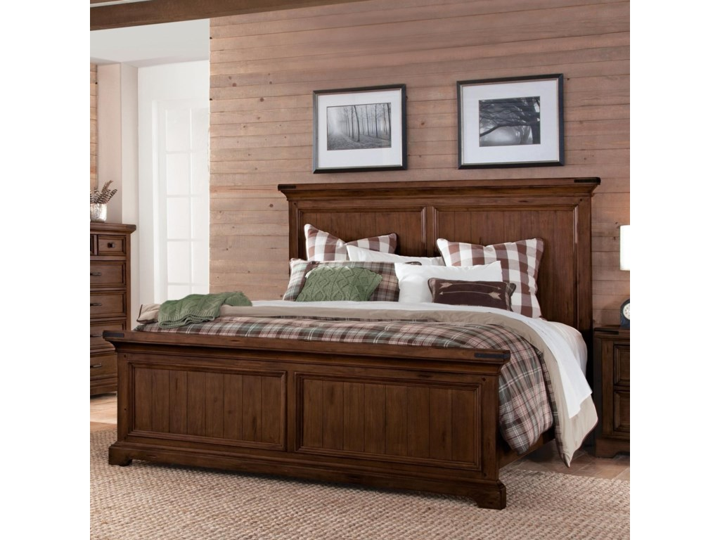 Sunny Designs Mossy Oak Nativ LivingQueen Panel Bed