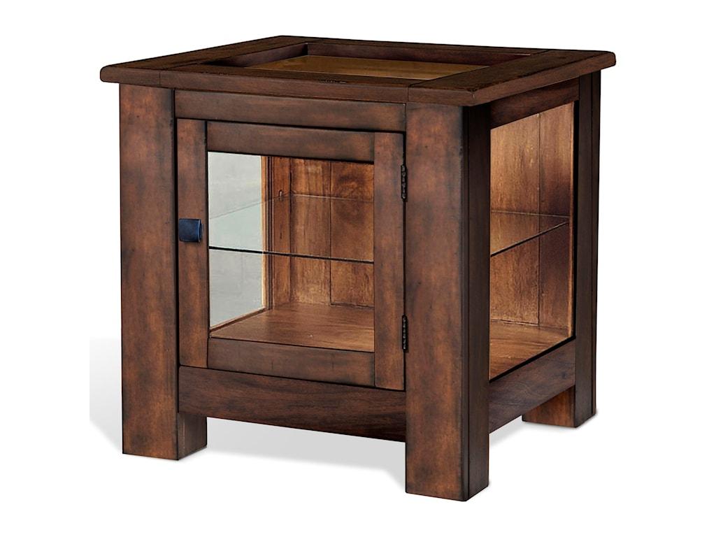 Sunny Designs Mossy Oak Nativ LivingCurio End Table