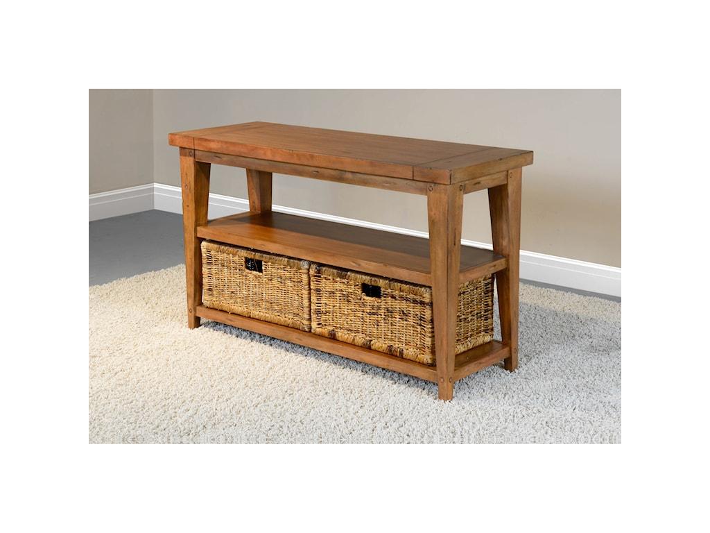 Sunny Designs Mossy Oak Nativ LivingSofa Table