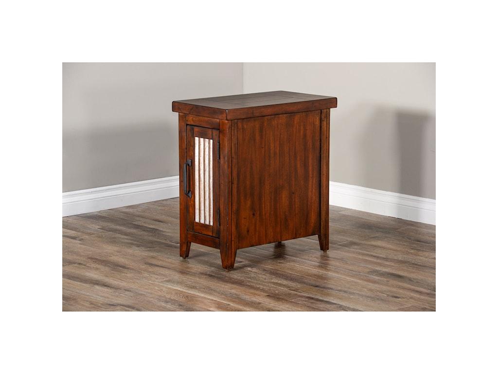 Sunny Designs Mossy Oak Nativ LivingChair Side Table
