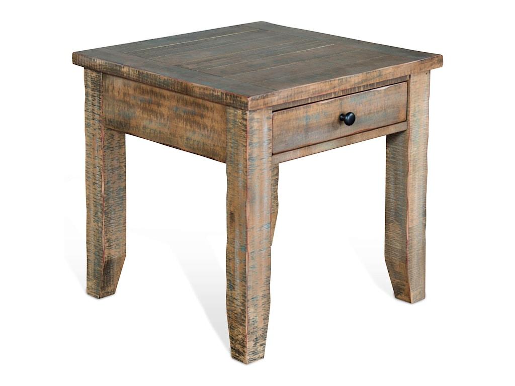 Sunny Designs PueblaEnd table