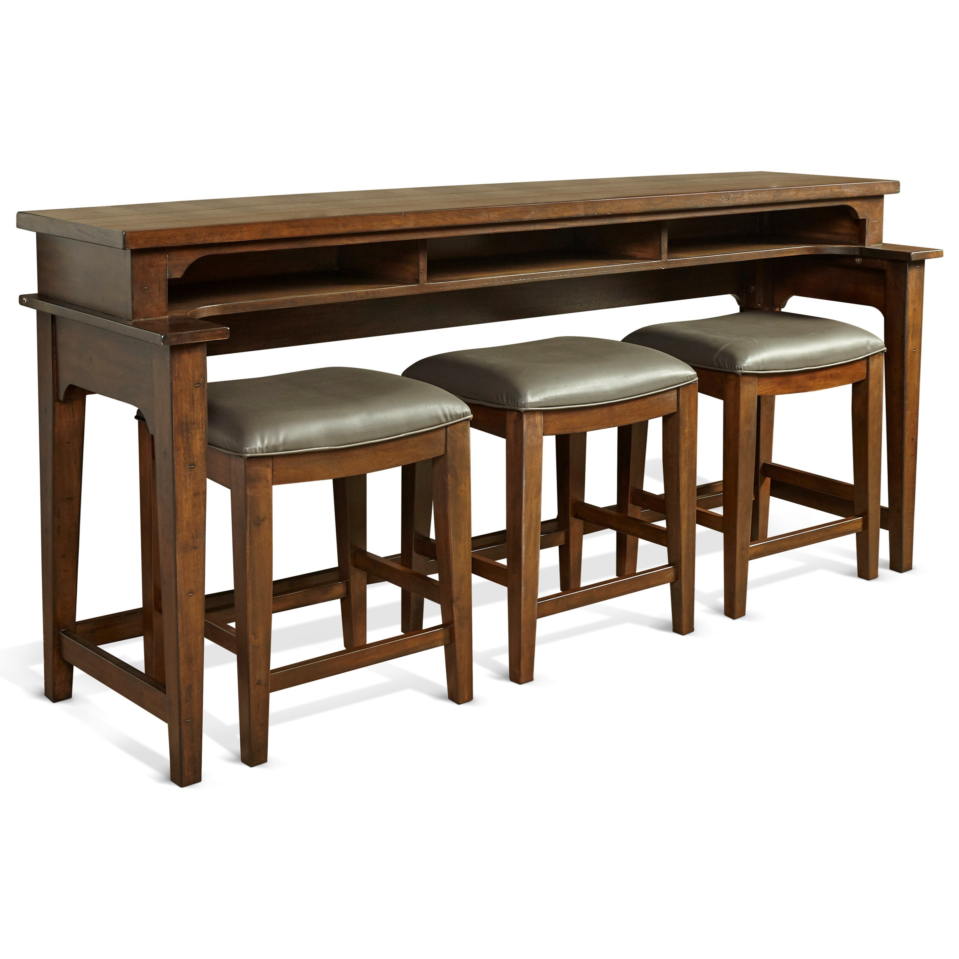 Merveilleux Richmond Console Bar Table With Shelf By Sunny Designs