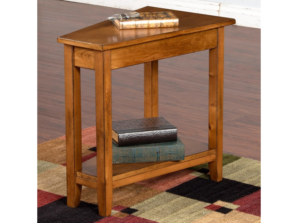 Sunny Designs Rustic BirchSedona Chair Side Table