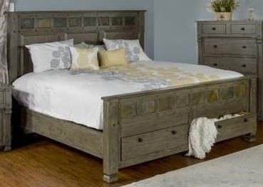 Market Square SadlerSadler Queen Storage Bed