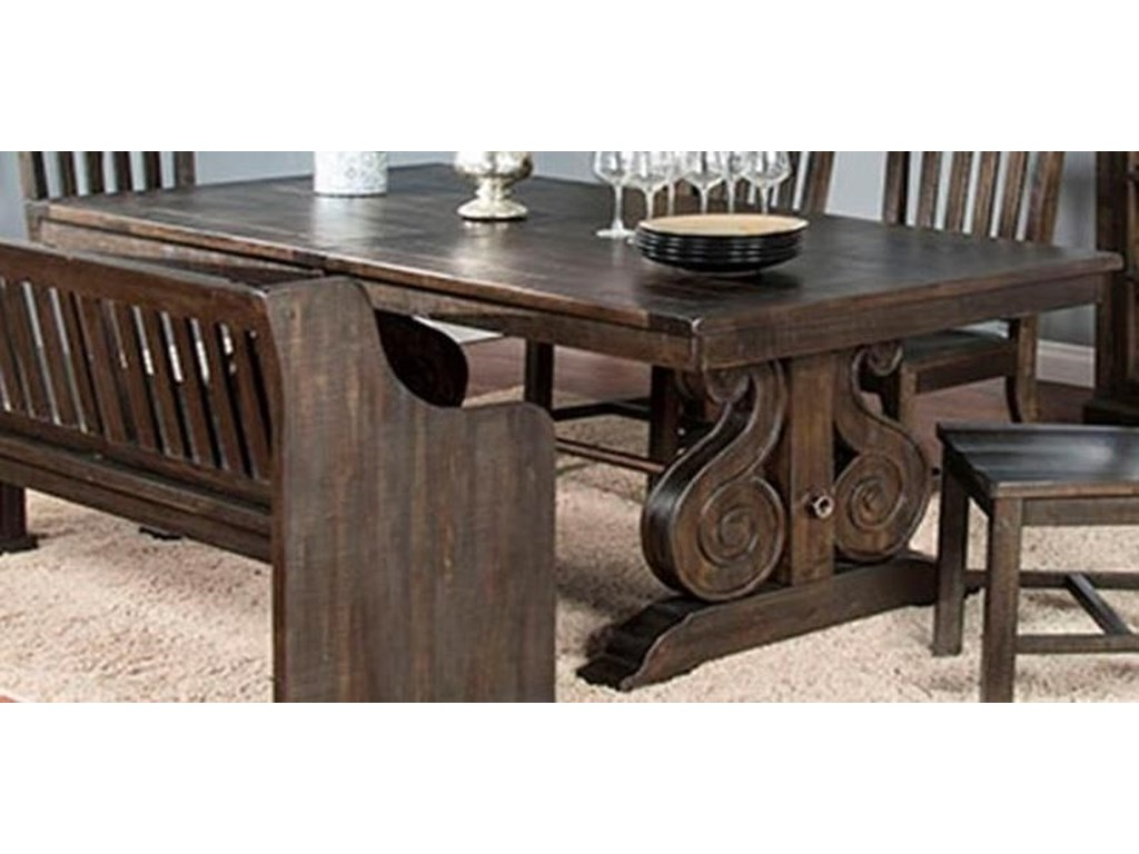 Market Square SalettaSaletta Dining Trestle Table
