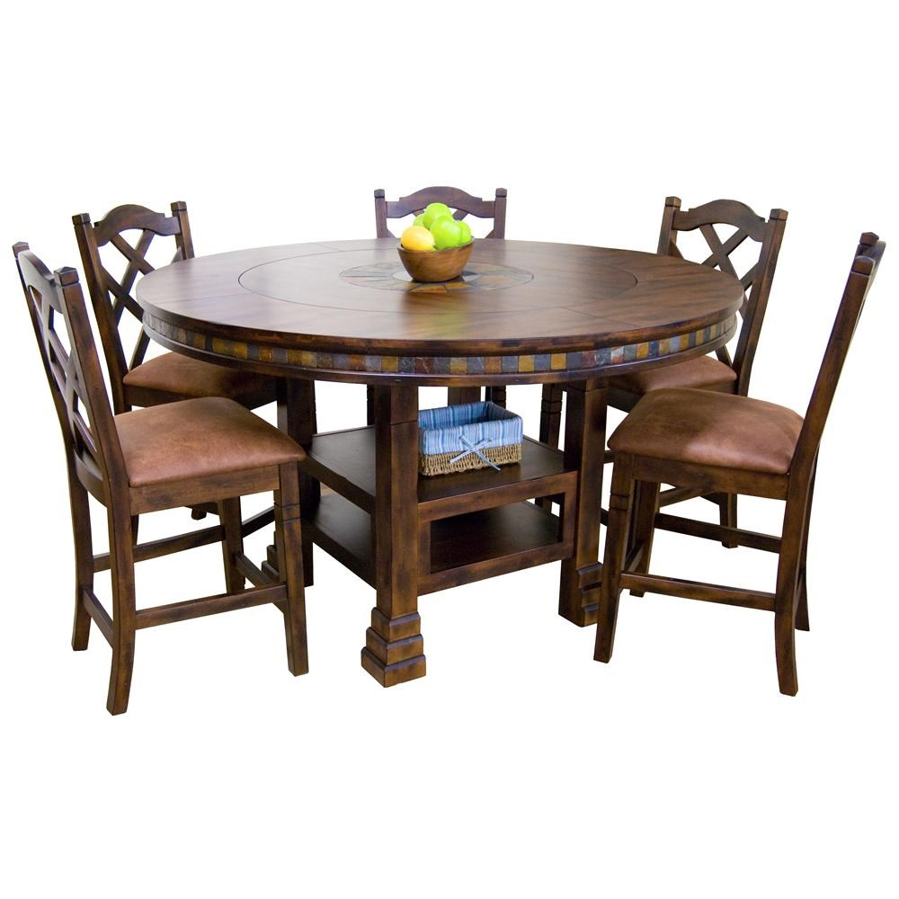 ... Sunny Designs Santa FeRound Dining Table