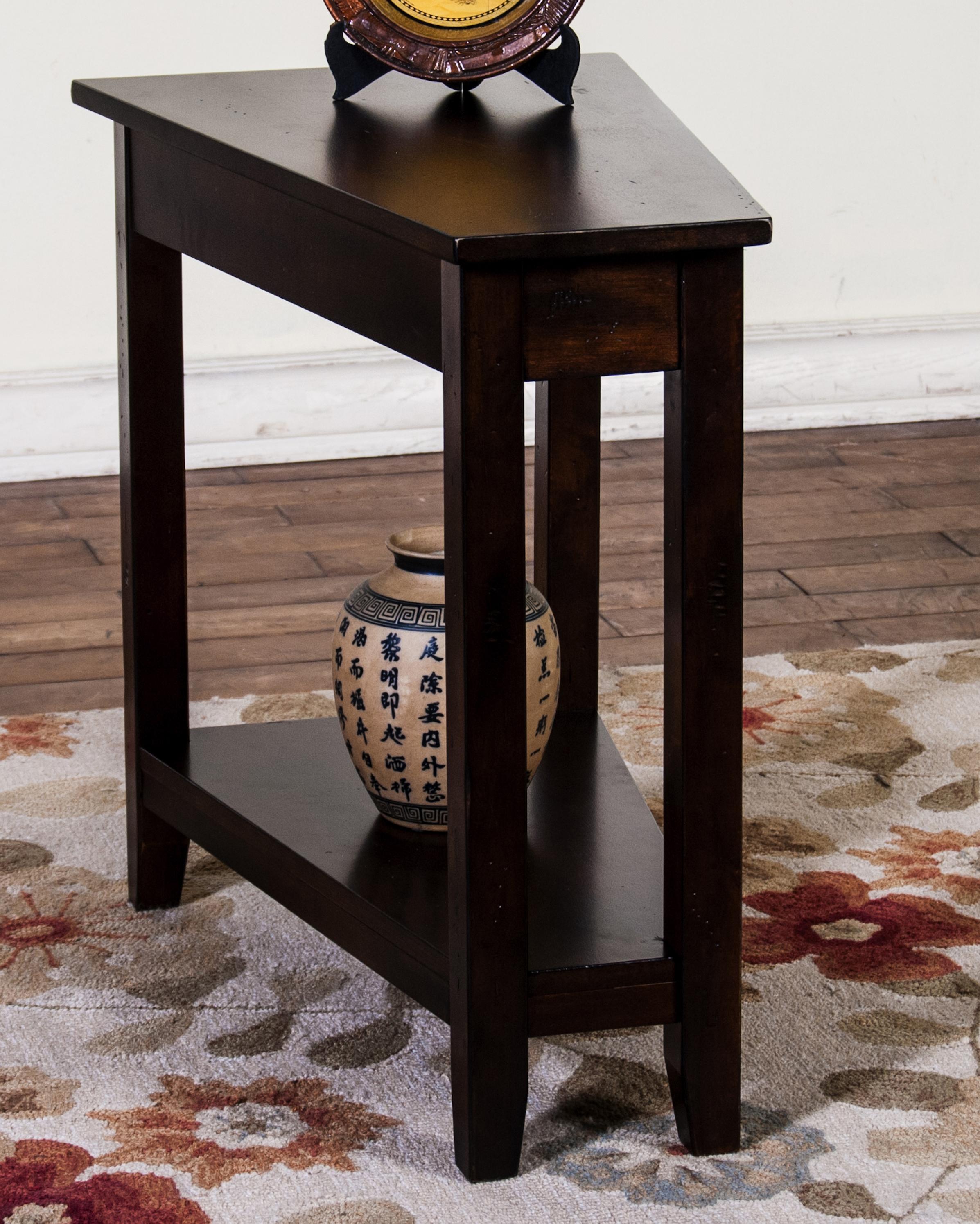 Beau Sunny Designs Santa Fe Dark Chocolate Chair Side Table