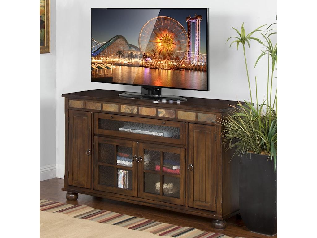 Sunny Designs Santa Fe62 Inch TV Console