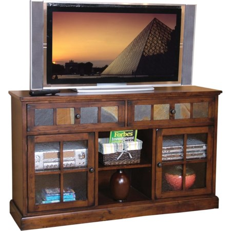 2 Drawer 2 Door TV Console