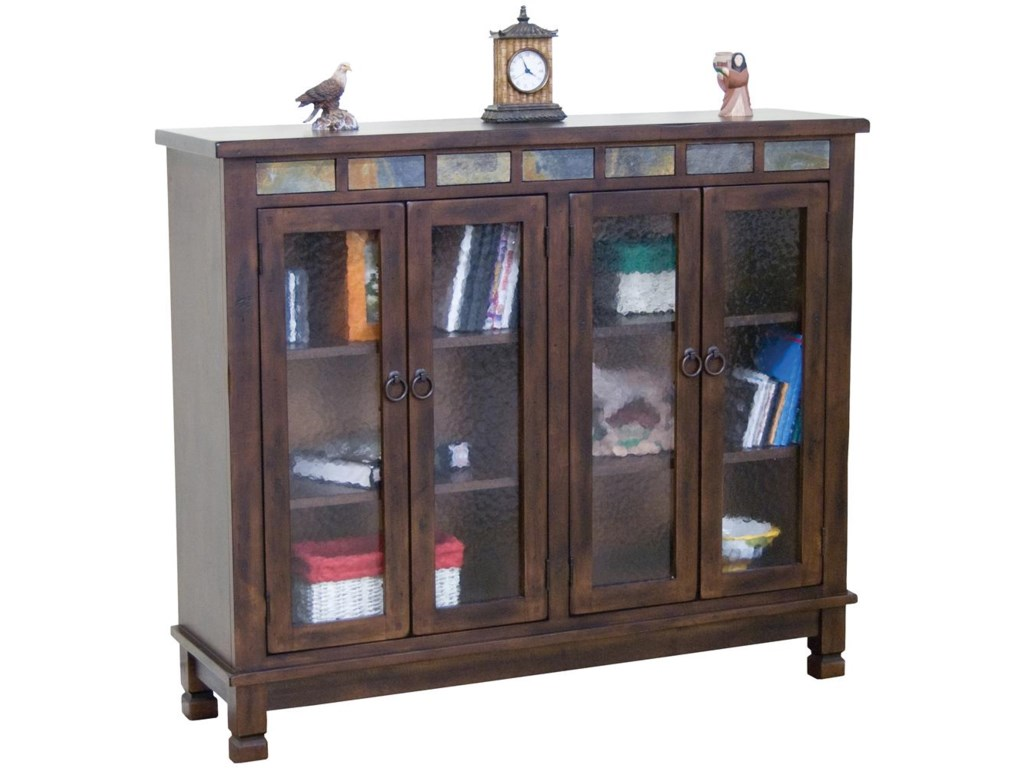 Sunny Designs Santa Fe4 Door Closed Bookcase