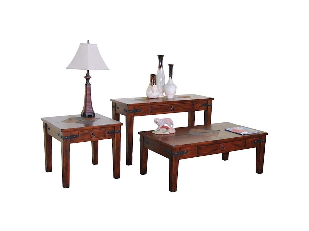 Sunny Designs Santa Fe1 Drawer Coffee Table
