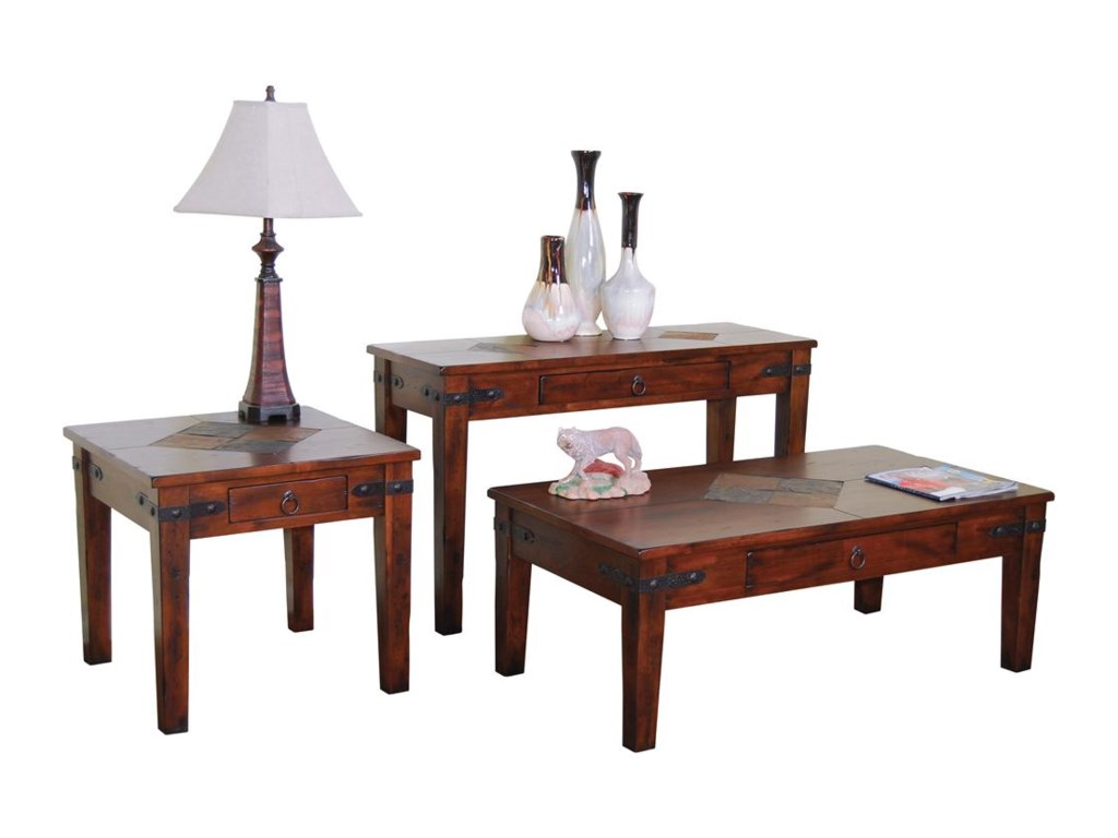 Sunny Designs Santa Fe1 Drawer End Table