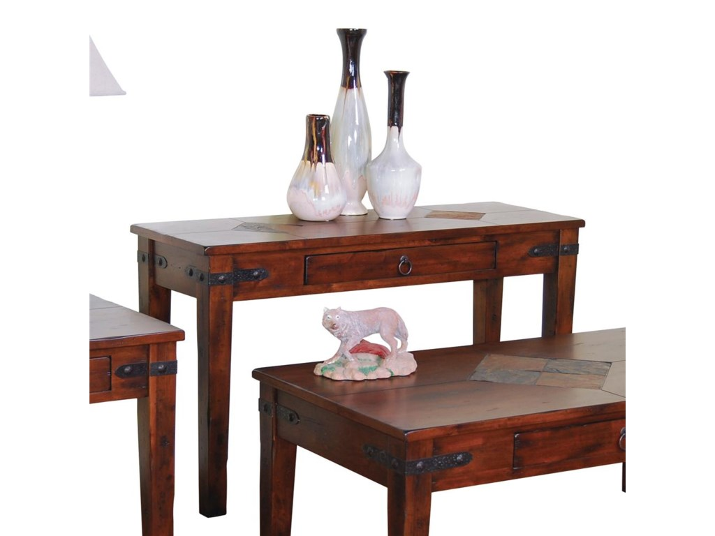 Sunny Designs Santa Fe1 Drawer Sofa Table
