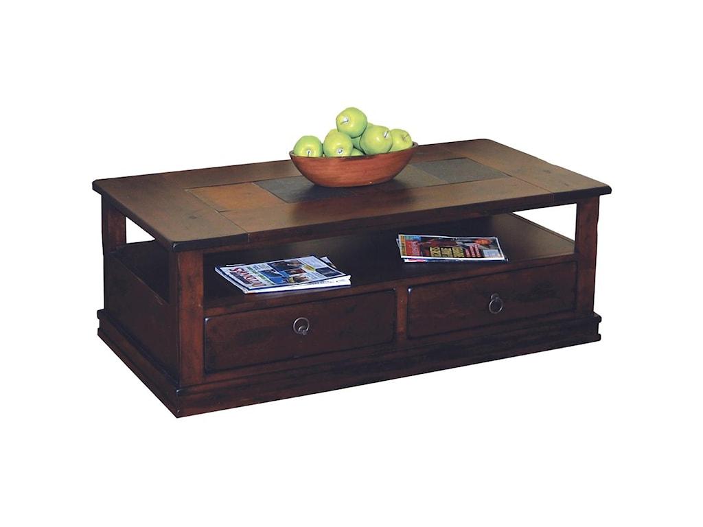 Sunny Designs Santa Fe2 Drawer Coffee Table