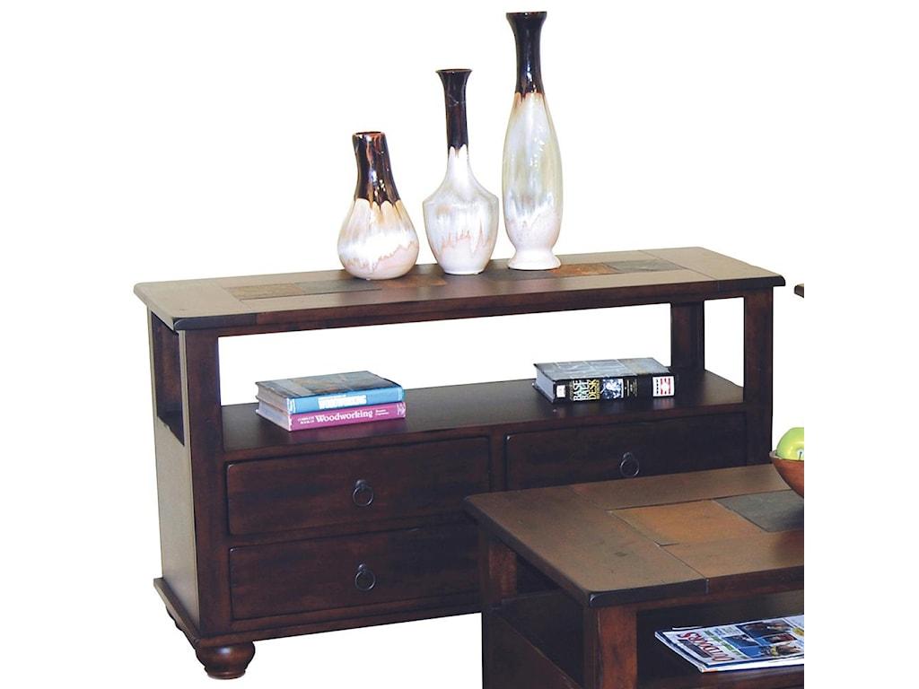 Sunny Designs Santa Fe4 Drawer Sofa Table