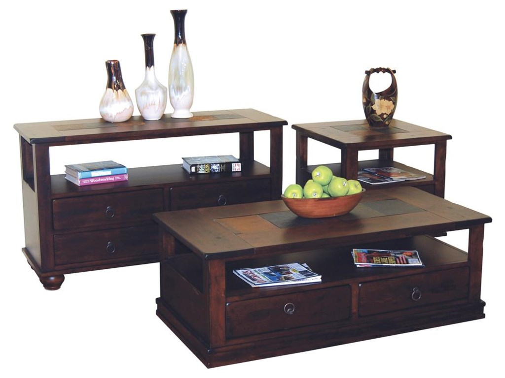 Shown with Matching Coffee and End Table