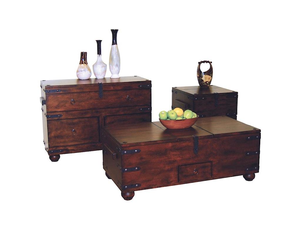 Sunny Designs Santa FeStorage Coffee Table