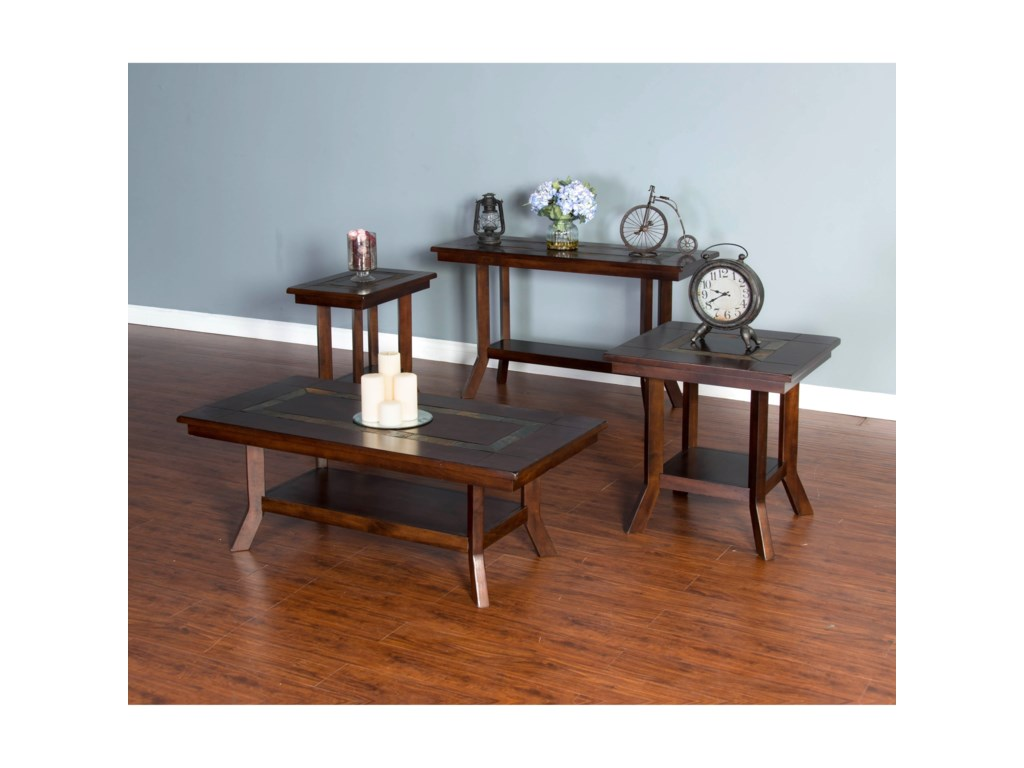 Sunny Designs Santa FeEnd Table