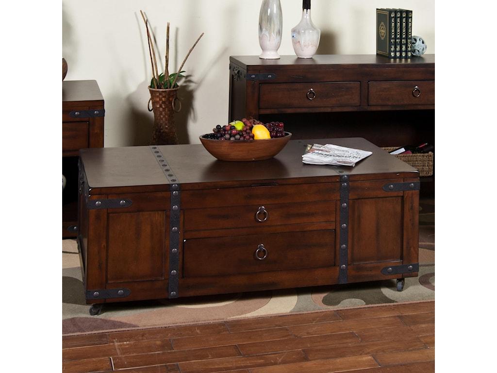 Sunny Designs Santa FeCoffee Table w/ Lift Top