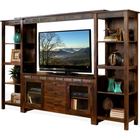 108 Inch Open Display Wall Unit