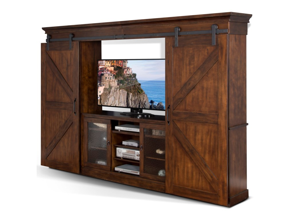 Sunny Designs Santa FeEntertainment Wall Unit