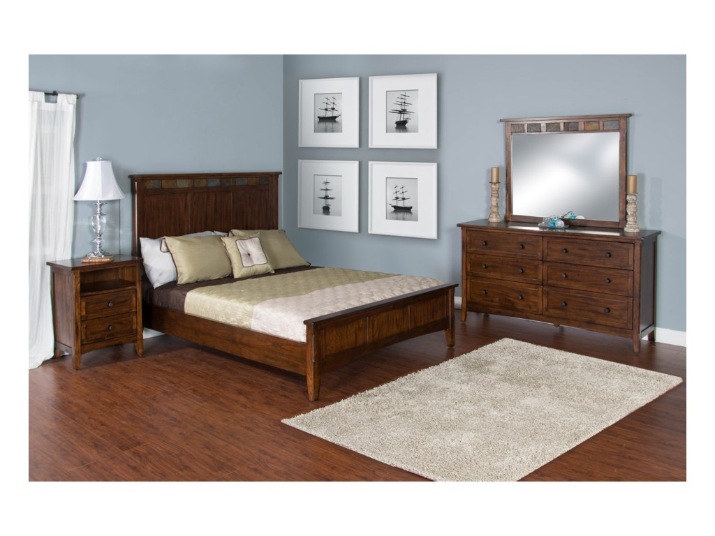 Sunny Designs Santa FeQueen Bedroom Group