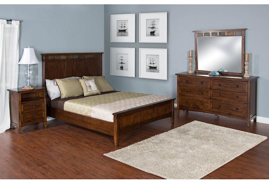 Sunny Designs Santa Fe King Bedroom Group | Powell\'s ...