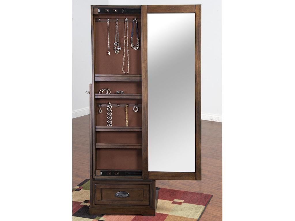 Sunny Designs SavannahSliding Mirror Stand