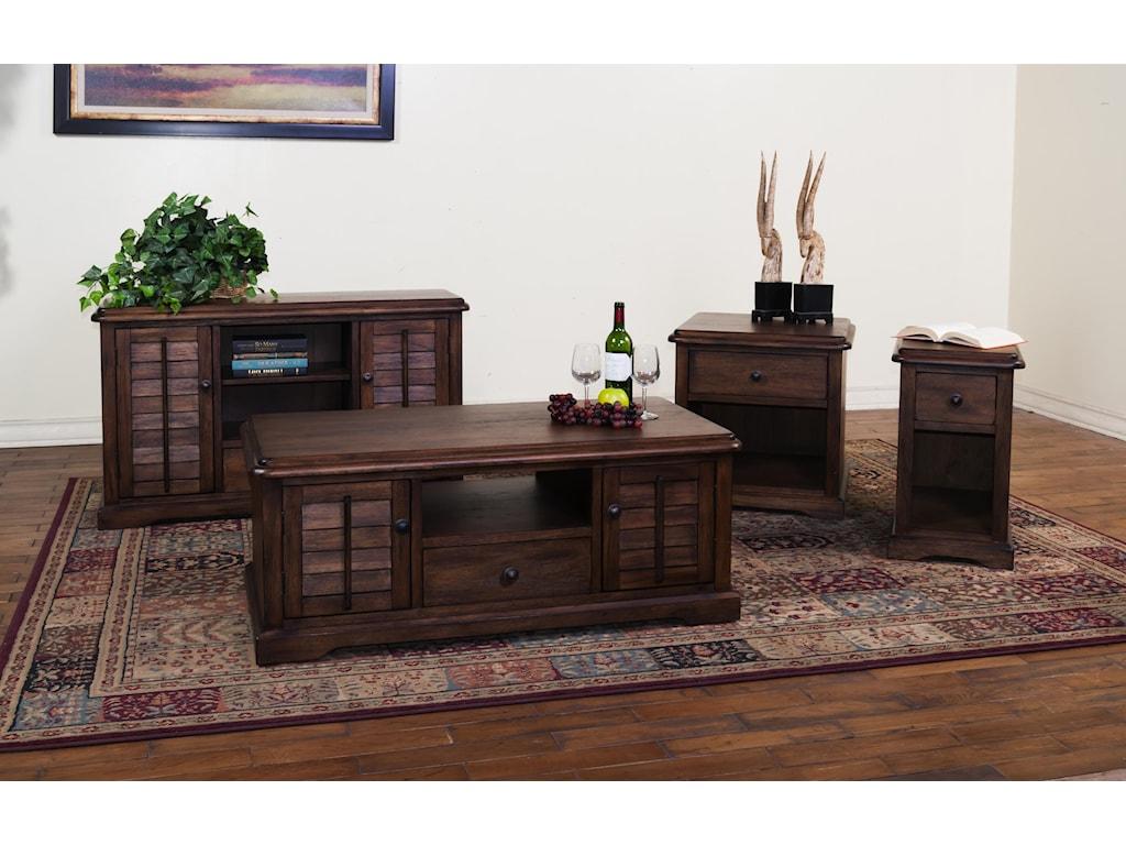 Sunny Designs SavannahEnd Table