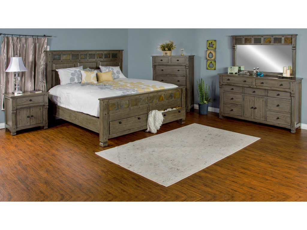 Sunny Designs ScottsdaleQueen Bedroom Group