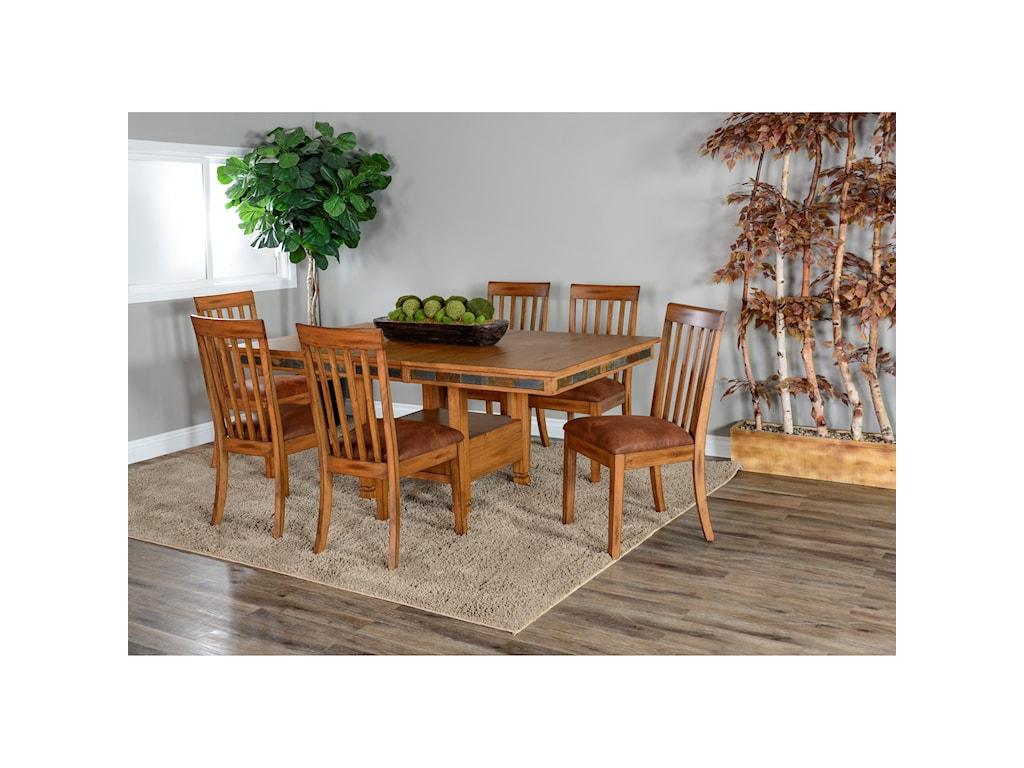 Sunny Designs Sedona 2Slatback Chair