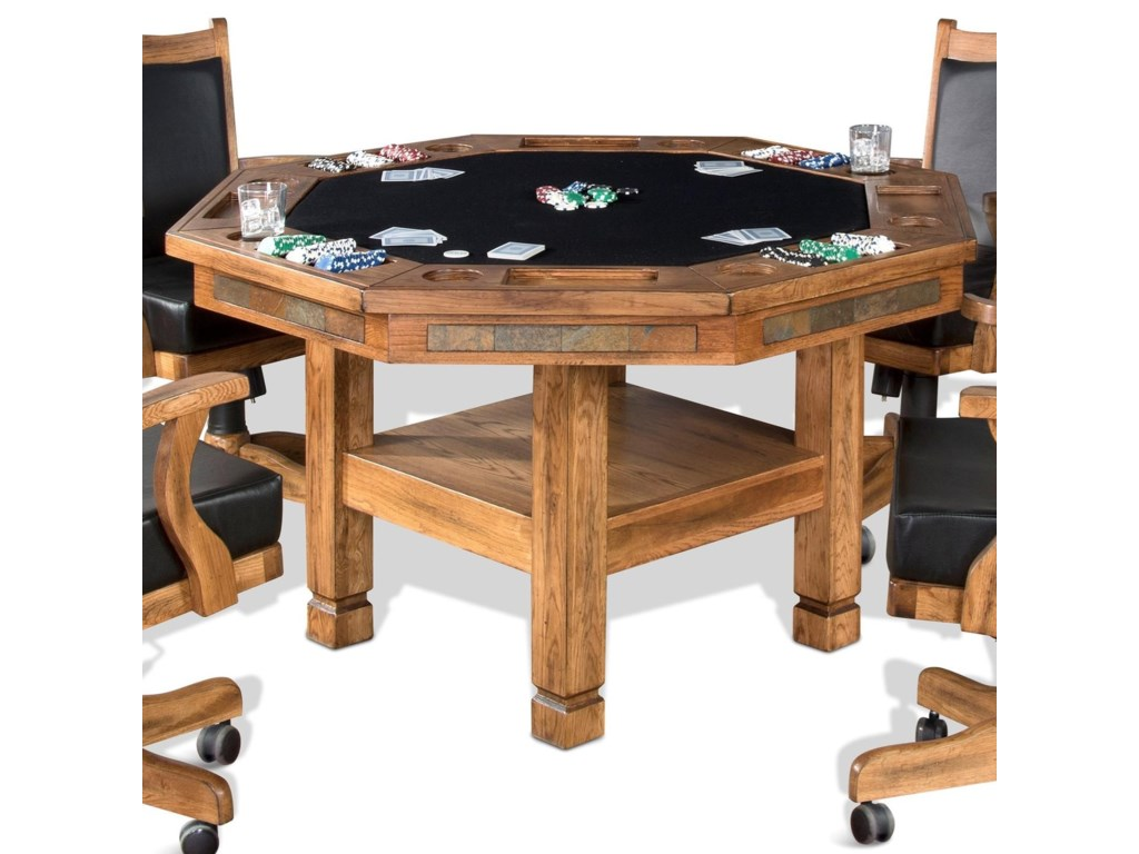 Sunny Designs SedonaGame & Dining Table