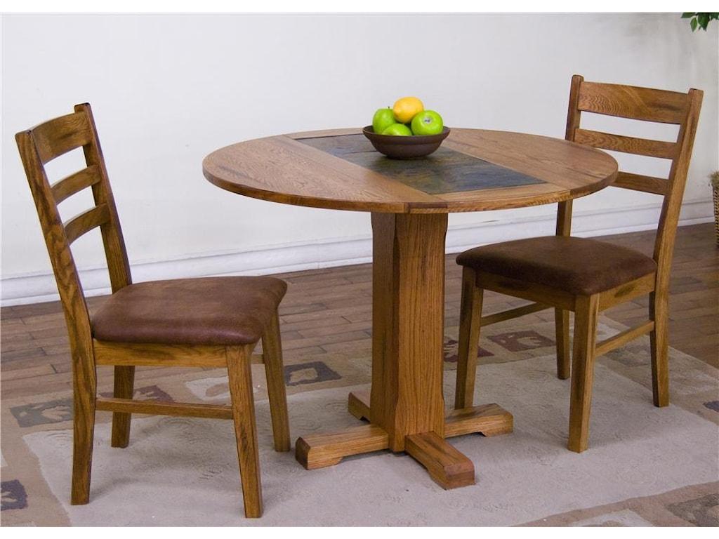 Sedona 3-Piece Drop-Leaf Table & Chair Set
