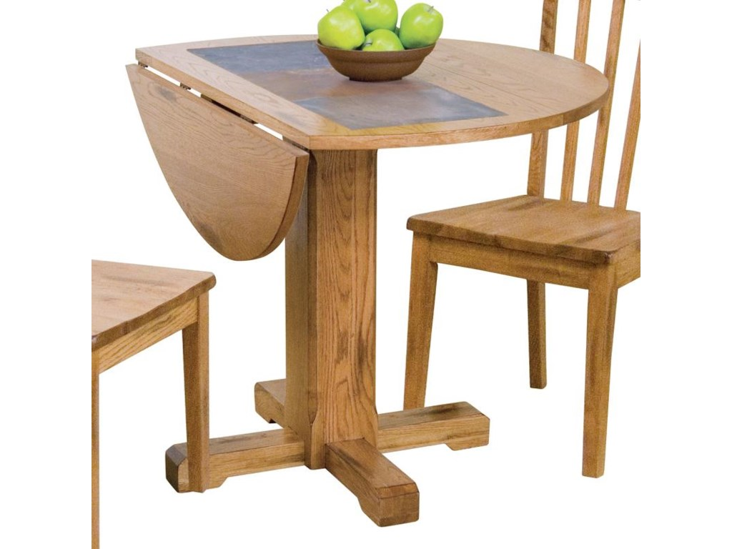 Sunny Designs SedonaDrop Leaf Table w/ Slate