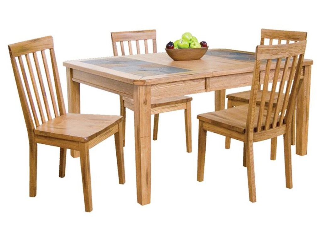 Sunny Designs Sedona5-Piece Extension Table & Chair Set