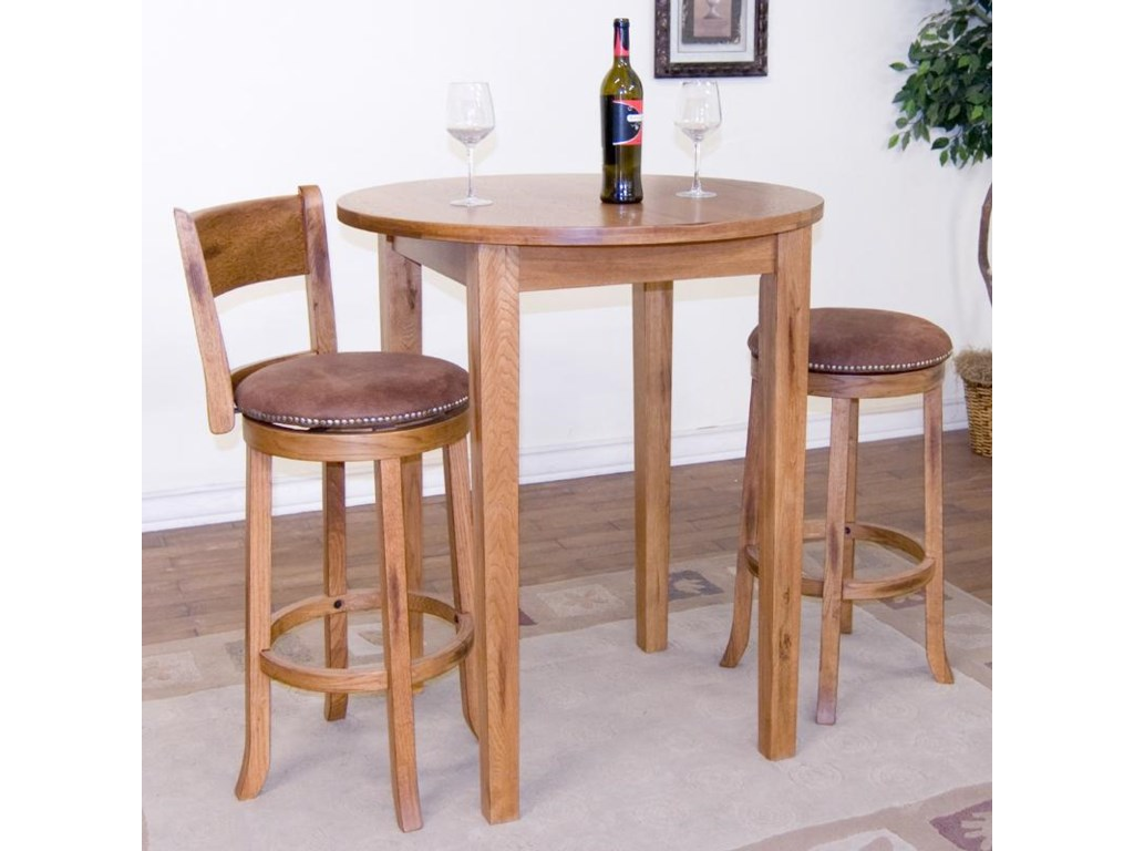 Shown as part of pub table set