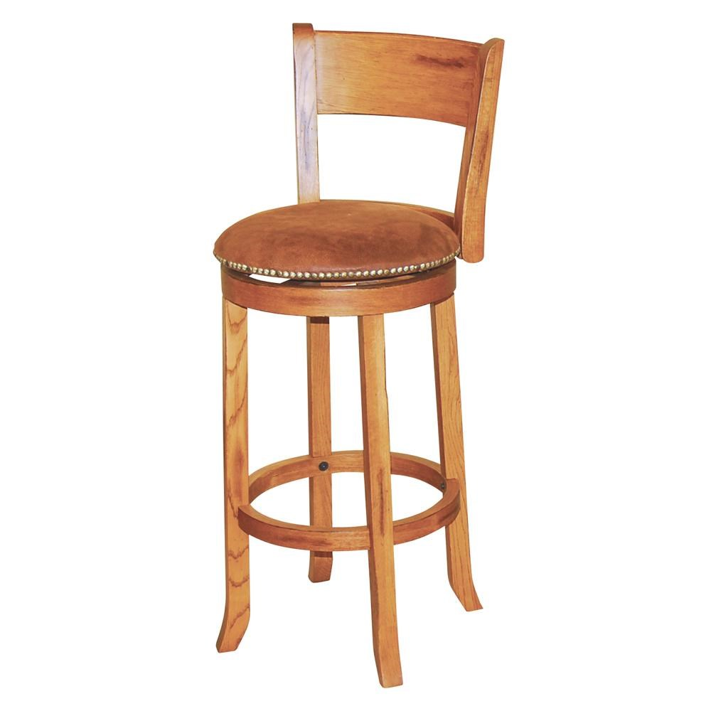 Market Square Morris Home 30 Swivel Stool W Back Morris Home