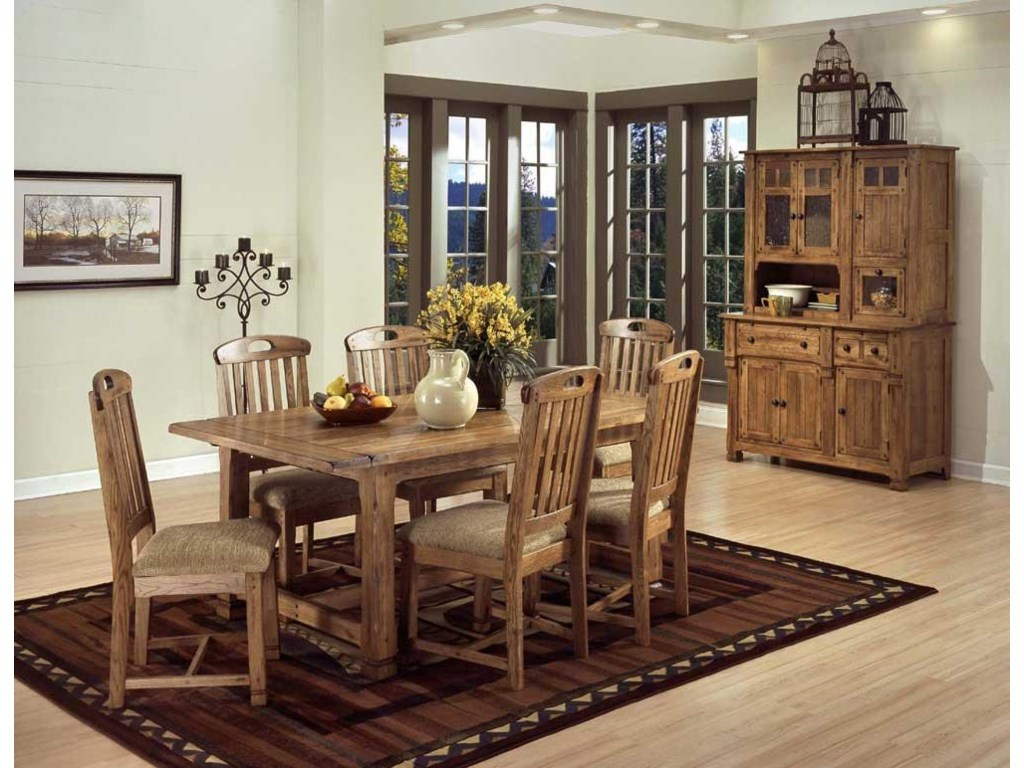 Shown with table set