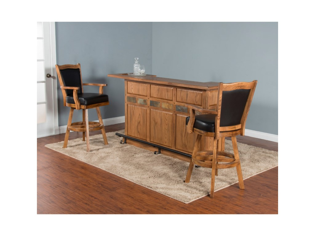 Shown with Back Bar & Server